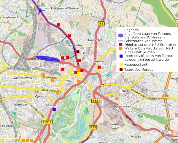 Kassel_Stadtplan
